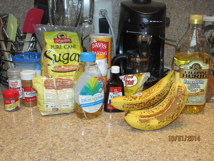 My ingredient spread